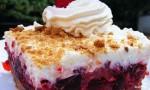 Raspberry Icebox Cake
