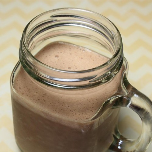 Healthy Cocoa, Banana, PB Smoothie